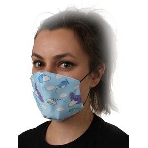 Airplane Pattern Face Mask